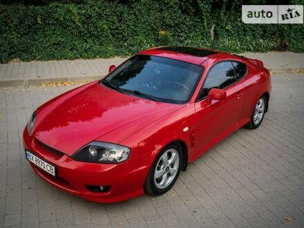 Червоний Хендай Купе, об'ємом двигуна 2 л та пробігом 176 тис. км за 6600 $, фото 1 на Automoto.ua