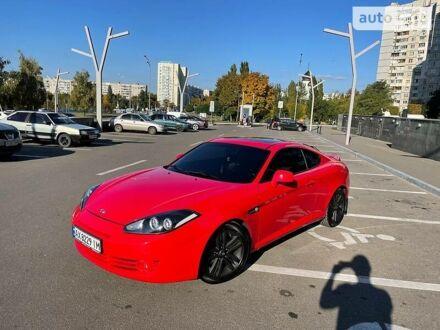 Червоний Хендай Купе, об'ємом двигуна 2 л та пробігом 107 тис. км за 7900 $, фото 1 на Automoto.ua