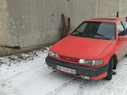 Красный Хендай Ексель, объемом двигателя 1.5 л и пробегом 1 тыс. км за 1500 $, фото 1 на Automoto.ua