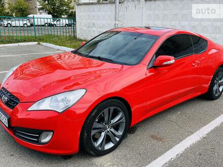 Красный Хендай Генезис, объемом двигателя 2 л и пробегом 91 тыс. км за 12500 $, фото 1 на Automoto.ua