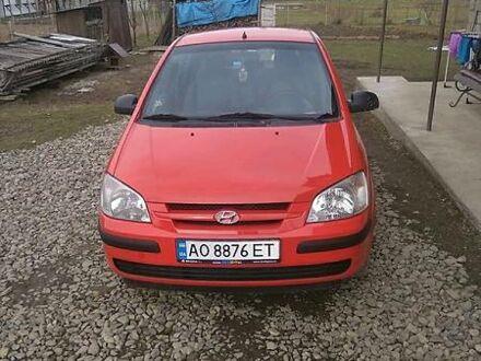 Красный Хендай Гетц, объемом двигателя 0 л и пробегом 158 тыс. км за 3750 $, фото 1 на Automoto.ua