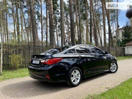 Черный Хендай Соната, объемом двигателя 2.4 л и пробегом 98 тыс. км за 11250 $, фото 1 на Automoto.ua