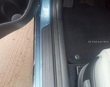 Синий Хендай Соната, объемом двигателя 2 л и пробегом 95 тыс. км за 14800 $, фото 19 на Automoto.ua