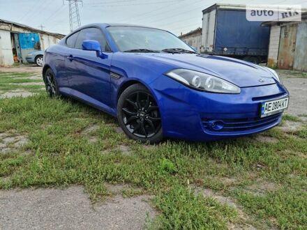 Синий Хендай Тибурон, объемом двигателя 2.7 л и пробегом 207 тыс. км за 5950 $, фото 1 на Automoto.ua