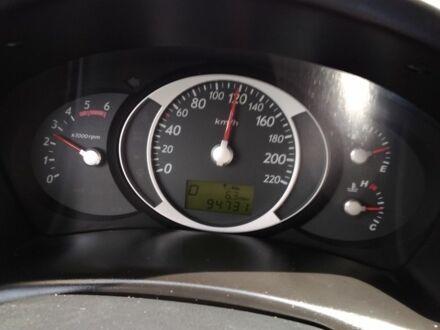 Черный Хендай Туксон, объемом двигателя 2 л и пробегом 95 тыс. км за 13300 $, фото 1 на Automoto.ua