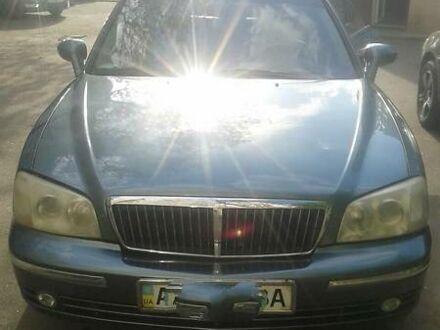 Зеленый Хендай КСГ, объемом двигателя 3.5 л и пробегом 160 тыс. км за 4000 $, фото 1 на Automoto.ua