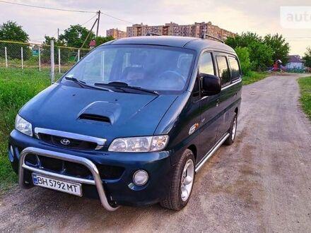 Зелений Хендай H 200 груз.-пасс., об'ємом двигуна 2.5 л та пробігом 285 тис. км за 4500 $, фото 1 на Automoto.ua