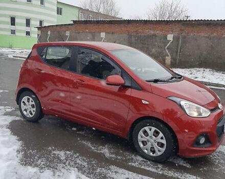 Красный Хендай и10, объемом двигателя 1 л и пробегом 101 тыс. км за 8500 $, фото 1 на Automoto.ua