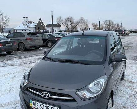 Серый Хендай и10, объемом двигателя 1.2 л и пробегом 40 тыс. км за 8000 $, фото 1 на Automoto.ua