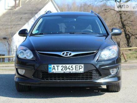 Черный Хендай i30, объемом двигателя 1.6 л и пробегом 153 тыс. км за 7200 $, фото 1 на Automoto.ua