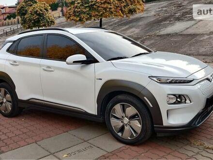 Белый Хендай Kona Electric, объемом двигателя 0 л и пробегом 33 тыс. км за 31999 $, фото 1 на Automoto.ua