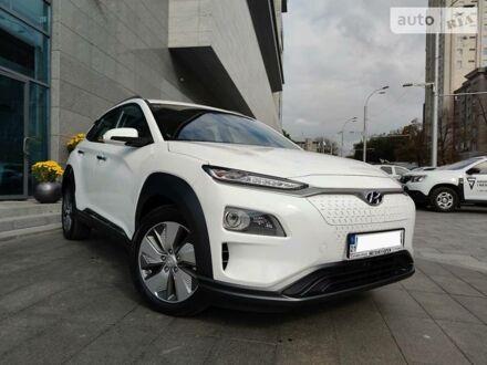 Белый Хендай Kona Electric, объемом двигателя 0 л и пробегом 2 тыс. км за 29999 $, фото 1 на Automoto.ua