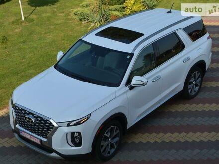 Белый Хендай Palisade, объемом двигателя 3.8 л и пробегом 36 тыс. км за 39000 $, фото 1 на Automoto.ua