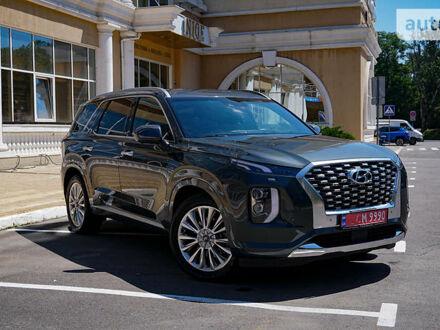 Сірий Хендай Palisade, об'ємом двигуна 3.8 л та пробігом 9 тис. км за 44500 $, фото 1 на Automoto.ua