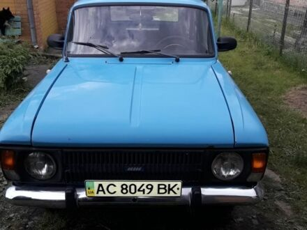 Синій ІЖ 2125, об'ємом двигуна 1.5 л та пробігом 54 тис. км за 634 $, фото 1 на Automoto.ua