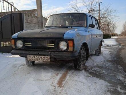 Синий ИЖ 2125, объемом двигателя 1.5 л и пробегом 90 тыс. км за 550 $, фото 1 на Automoto.ua