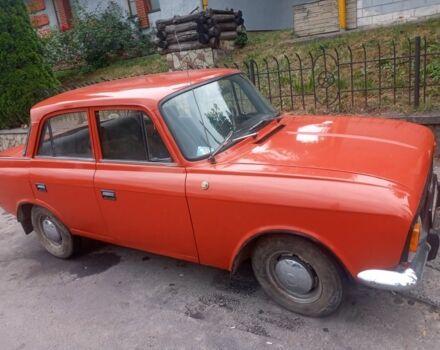 Красный ИЖ 412, объемом двигателя 15 л и пробегом 1 тыс. км за 650 $, фото 1 на Automoto.ua