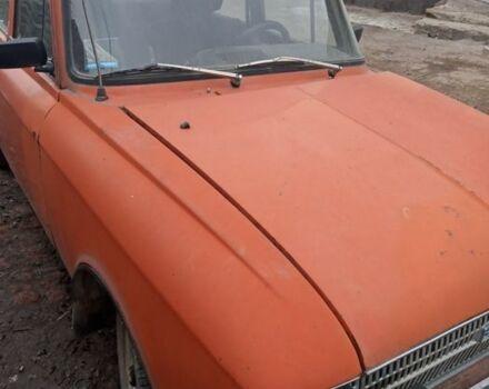 Красный ИЖ 412, объемом двигателя 1.5 л и пробегом 100 тыс. км за 387 $, фото 1 на Automoto.ua