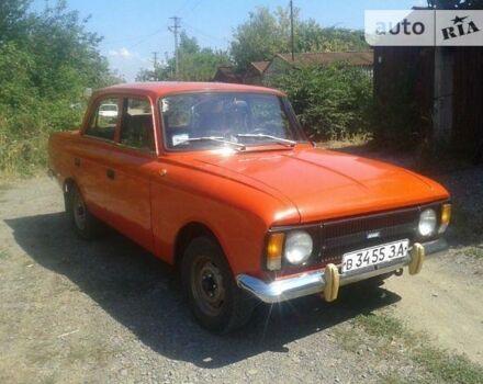 Красный ИЖ 412, объемом двигателя 1.5 л и пробегом 56 тыс. км за 1500 $, фото 1 на Automoto.ua