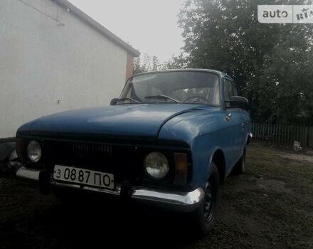 Синий ИЖ 412, объемом двигателя 1.5 л и пробегом 999 тыс. км за 300 $, фото 1 на Automoto.ua