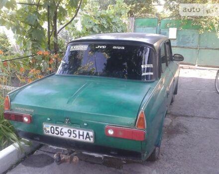 Зелений ІЖ 412, об'ємом двигуна 1.5 л та пробігом 125 тис. км за 332 $, фото 1 на Automoto.ua