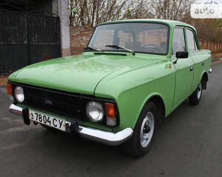 Зеленый ИЖ 412, объемом двигателя 1.5 л и пробегом 84 тыс. км за 1300 $, фото 1 на Automoto.ua