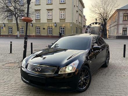 Черный Инфинити Г, объемом двигателя 3.5 л и пробегом 152 тыс. км за 13799 $, фото 1 на Automoto.ua