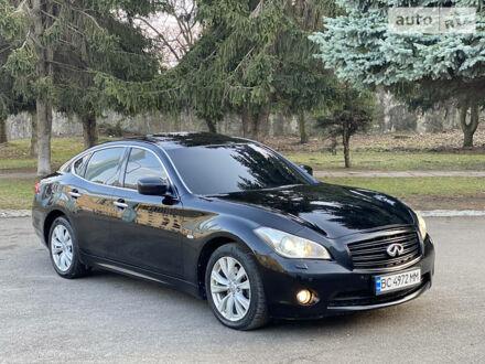 Черный Инфинити М, объемом двигателя 3.7 л и пробегом 228 тыс. км за 15850 $, фото 1 на Automoto.ua