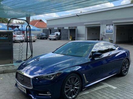 Синій Інфініті Q60, об'ємом двигуна 3 л та пробігом 59 тис. км за 33000 $, фото 1 на Automoto.ua