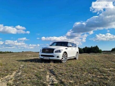 Білий Інфініті КХ, об'ємом двигуна 5.6 л та пробігом 120 тис. км за 28300 $, фото 1 на Automoto.ua