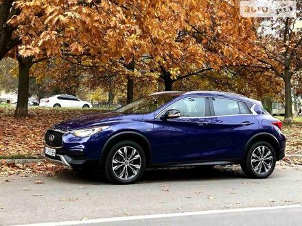 Синій Інфініті QX30, об'ємом двигуна 2 л та пробігом 97 тис. км за 22500 $, фото 1 на Automoto.ua