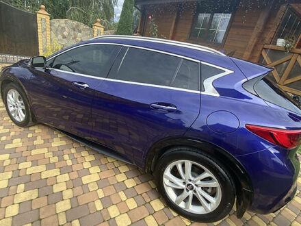 Синій Інфініті QX30, об'ємом двигуна 2 л та пробігом 23 тис. км за 22500 $, фото 1 на Automoto.ua