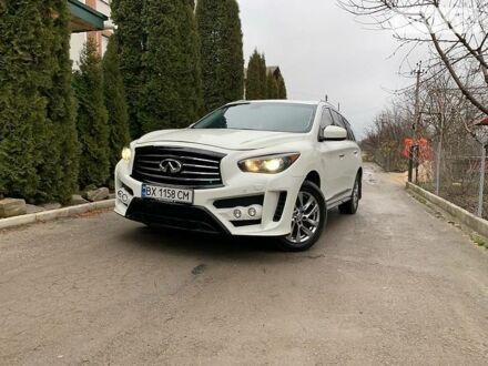 Білий Інфініті QX60, об'ємом двигуна 2.5 л та пробігом 140 тис. км за 25000 $, фото 1 на Automoto.ua