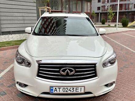 Белый Инфинити QX60, объемом двигателя 3.5 л и пробегом 84 тыс. км за 21750 $, фото 1 на Automoto.ua
