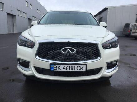 Білий Інфініті QX60, об'ємом двигуна 0.04 л та пробігом 37 тис. км за 30900 $, фото 1 на Automoto.ua