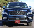 Черный Инфинити QX80, объемом двигателя 5.6 л и пробегом 81 тыс. км за 38000 $, фото 1 на Automoto.ua