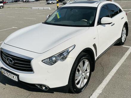 Білий Інфініті FX 30, об'ємом двигуна 3 л та пробігом 68 тис. км за 25500 $, фото 1 на Automoto.ua