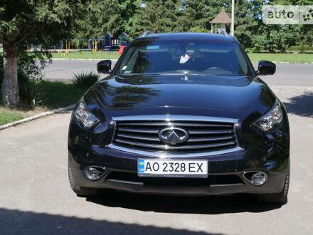 Чорний Інфініті FX 30, об'ємом двигуна 3 л та пробігом 115 тис. км за 27500 $, фото 1 на Automoto.ua