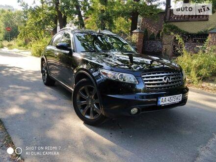 Черный Инфинити FX 45, объемом двигателя 4.5 л и пробегом 208 тыс. км за 10500 $, фото 1 на Automoto.ua