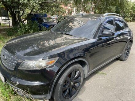 Черный Инфинити FX 45, объемом двигателя 4.5 л и пробегом 200 тыс. км за 10000 $, фото 1 на Automoto.ua
