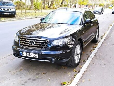 Черный Инфинити FX 45, объемом двигателя 4.5 л и пробегом 130 тыс. км за 13800 $, фото 1 на Automoto.ua