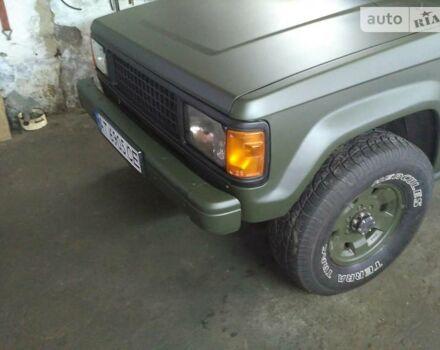 Зеленый Исузу Трупер, объемом двигателя 0.11 л и пробегом 1 тыс. км за 4800 $, фото 1 на Automoto.ua