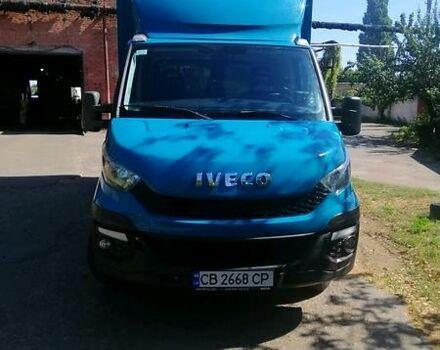 Синий Ивеко 35Ц13, объемом двигателя 2.3 л и пробегом 252 тыс. км за 22000 $, фото 1 на Automoto.ua