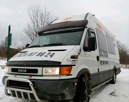 Белый Ивеко Дейли пасс., объемом двигателя 2.3 л и пробегом 218 тыс. км за 9500 $, фото 1 на Automoto.ua