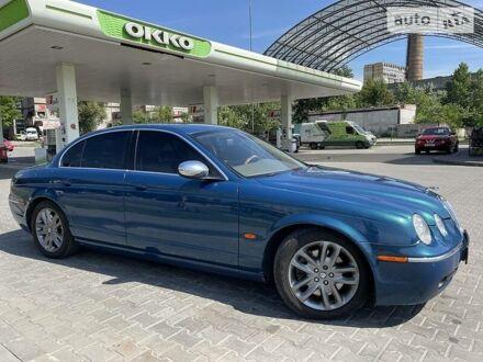Синій Ягуар S-Type, об'ємом двигуна 3 л та пробігом 140 тис. км за 7900 $, фото 1 на Automoto.ua