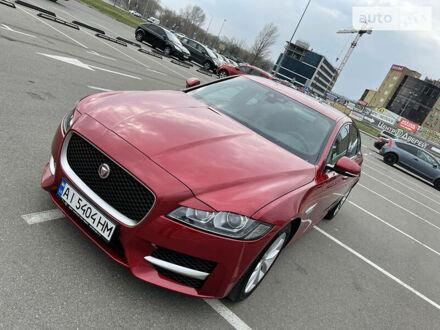 Червоний Ягуар ХФ, об'ємом двигуна 2 л та пробігом 4 тис. км за 40900 $, фото 1 на Automoto.ua