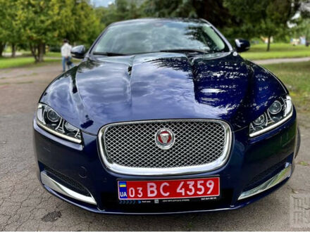 Синій Ягуар ХФР, об'ємом двигуна 2 л та пробігом 154 тис. км за 18300 $, фото 1 на Automoto.ua
