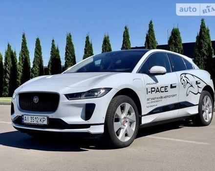 Белый Ягуар I-Pace, объемом двигателя 0 л и пробегом 20 тыс. км за 70048 $, фото 1 на Automoto.ua