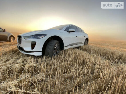 Білий Ягуар I-Pace, об'ємом двигуна 0 л та пробігом 47 тис. км за 65000 $, фото 1 на Automoto.ua
