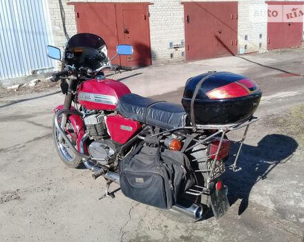 Красный ЯВА 350, объемом двигателя 0.35 л и пробегом 34 тыс. км за 500 $, фото 1 на Automoto.ua